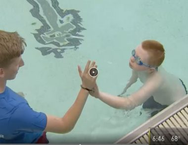 Swim Program Caters to Children With Autism